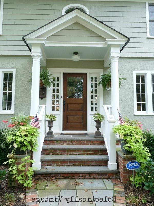 Door Portico & Front Door Portico Plans Front Door Simple ...