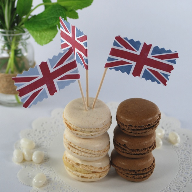 Great_Britain_British_Bake_Off_Finale_Party_TV_macaroons_macarons_food_flag_decoration