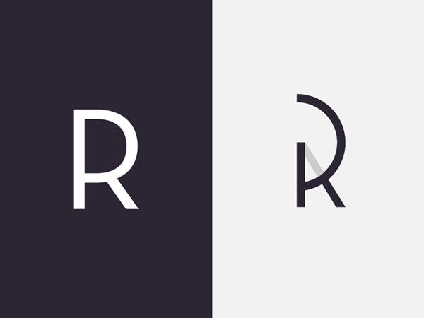 Monogram / Personal Logo by Rodrigo Puelles, via Behance