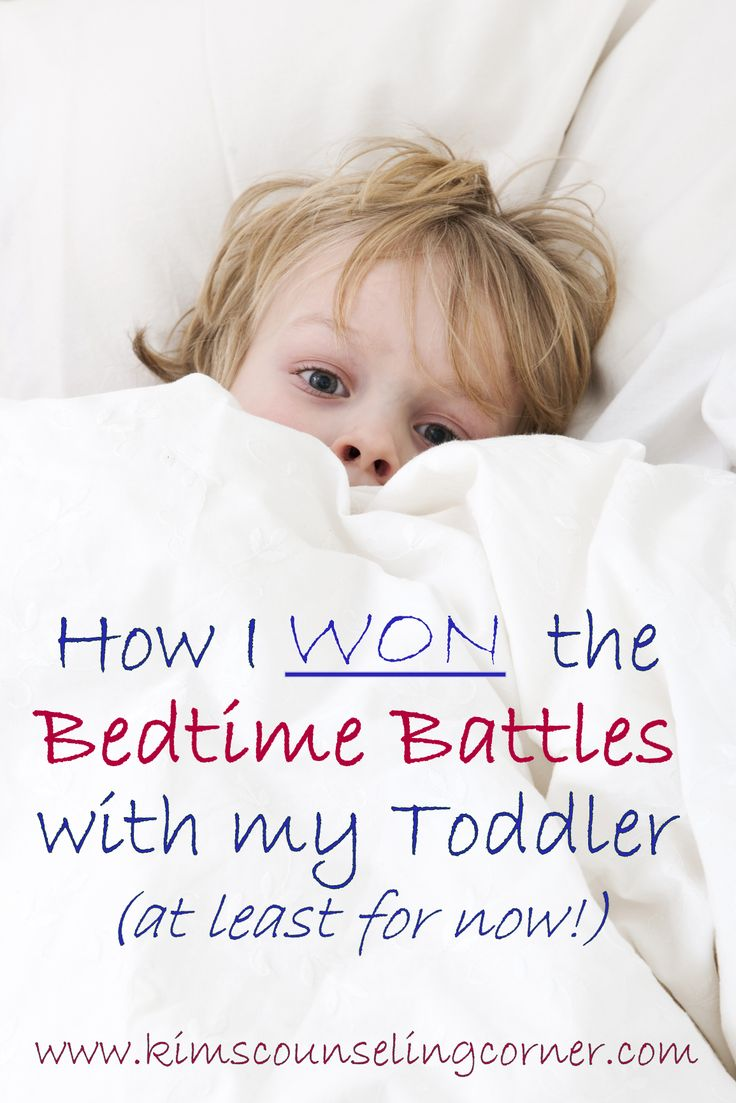 how to get toddler to stay in bed