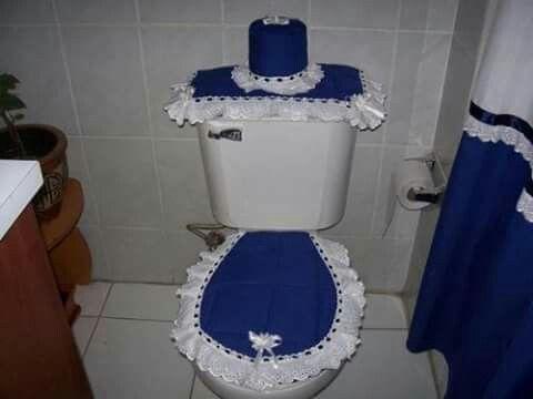 Azul baño