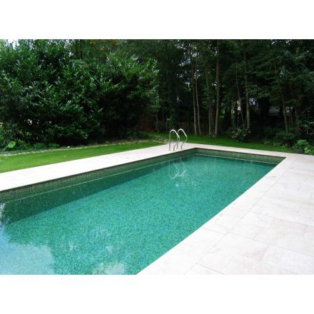 Mosaique piscine pates de verre vert bronze sublime for Marque piscine