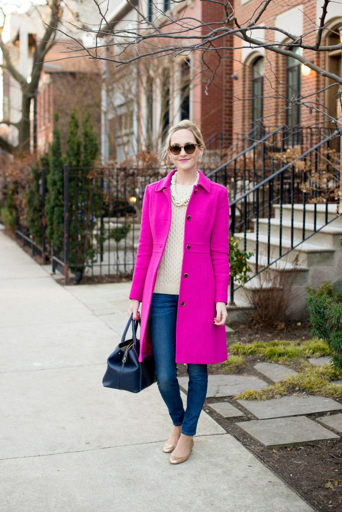 J.Crew Lady Day Coat | Kelly in the City