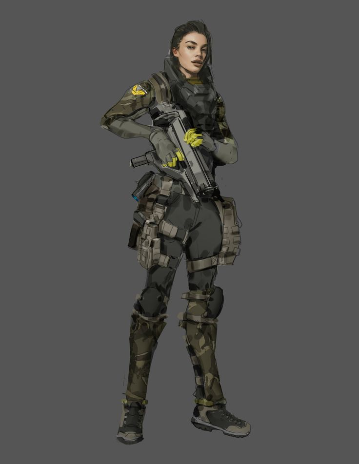 Female Alien Character...