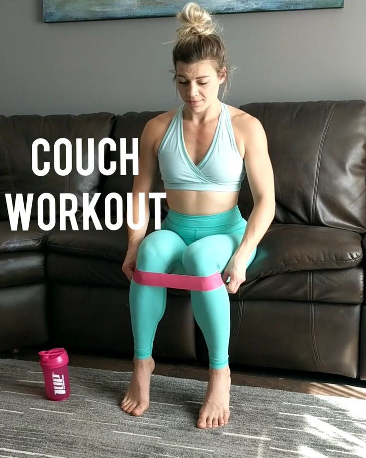 Mini-Band Couch Workout