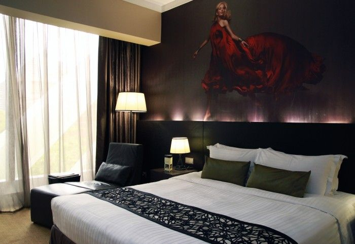 The rooms at Grand Park Orchard Singapore
