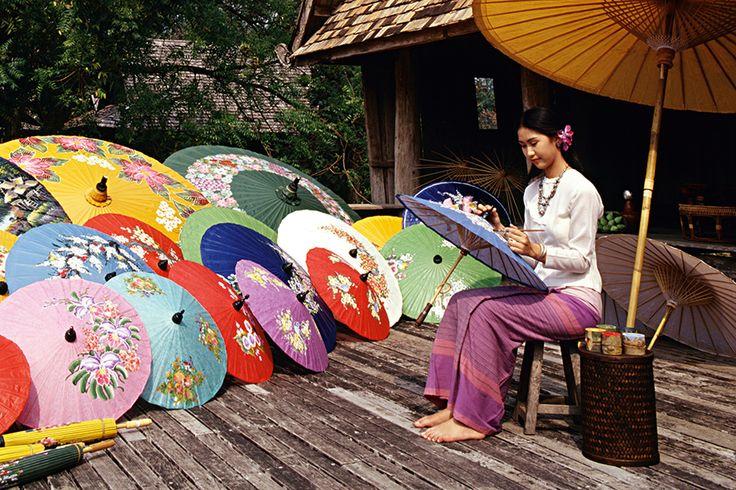 Umbrella handicraft, photo: Shutterstock
