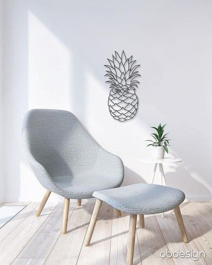 Ananas Duvar Dekoru