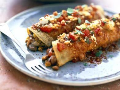 Enchilada's met tomatensaus