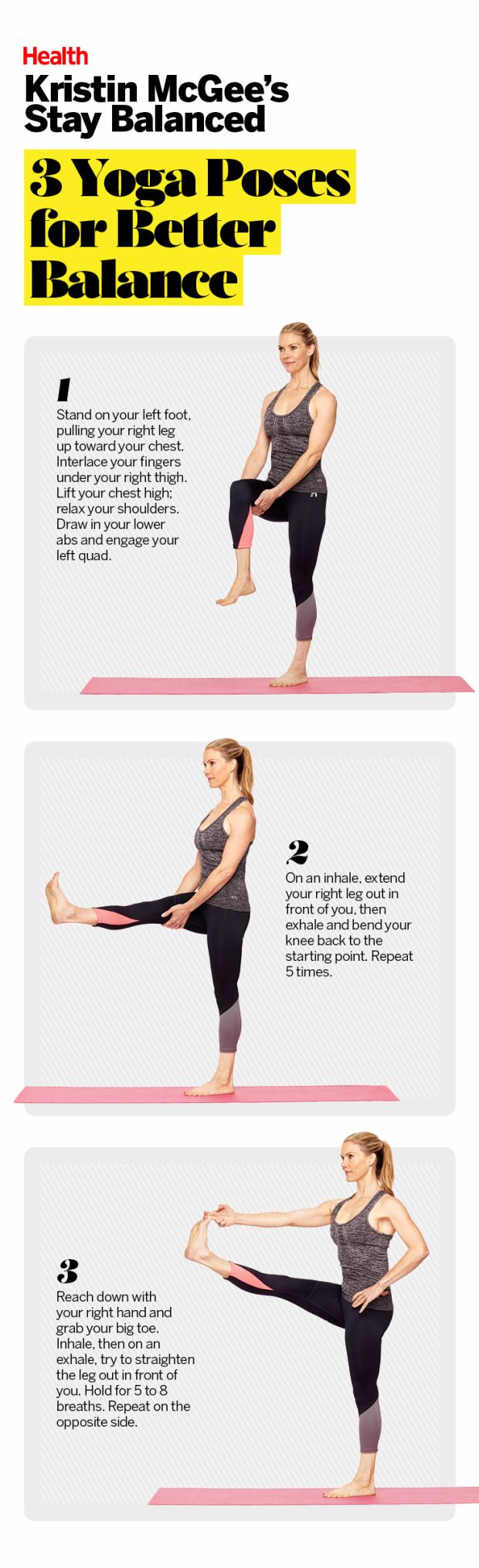 Yoga's secret perk? Better balance. Here's how to build a strong foundation while you get bendy.   Health.com