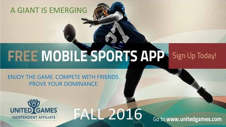 Bloomberg article about big names getting on board with a new sports app...Click the sign up button for more info now.