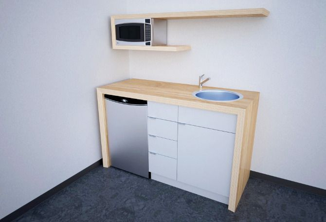 How To Make The Best Of Your Kitchenette: 17 Best Ideas About Office Kitchenette On Pinterest