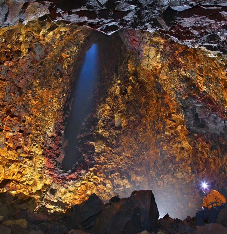 Trek through caves and volcanos of Iceland