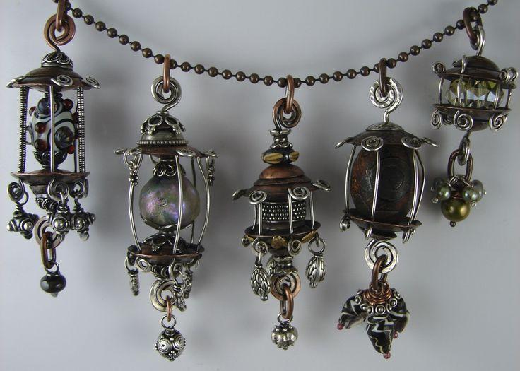 Janice Berkebile - Earrings or Pendants  I love all that she does!