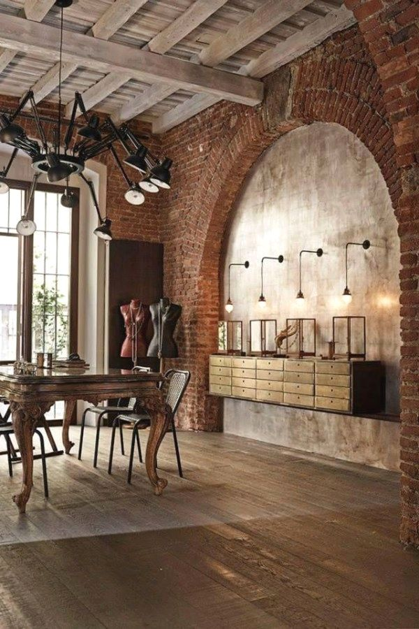 Vintage Style Is So In Nowadays Vintage Industrial Style S Blog Is Always Up Dated With The Latest Per House Interior Decor Industrial Interiors Loft Design