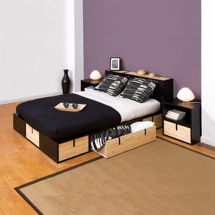 1000 id es sur le th me lits rangement int gr sur pinterest lits rangement int gr. Black Bedroom Furniture Sets. Home Design Ideas