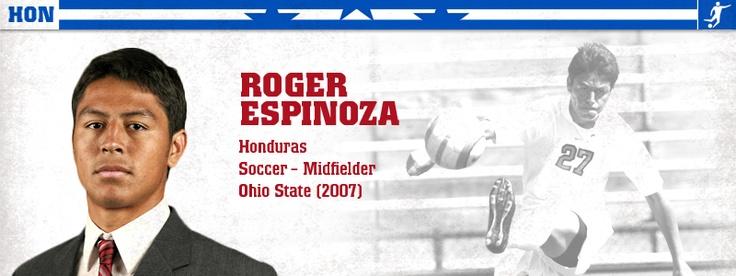 Roger Espinoza - soccer (HON)