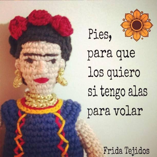 Frida Kahlo diseño de Frida Tejidos <3