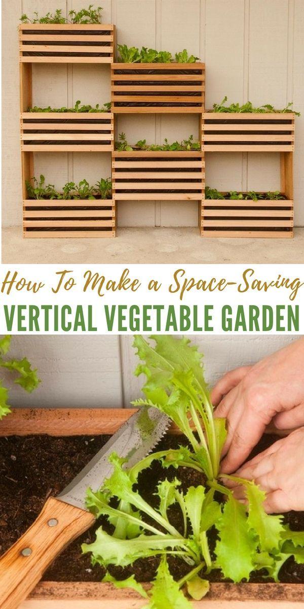 How To Make a Space-Saving Vertical Vegetable Garden