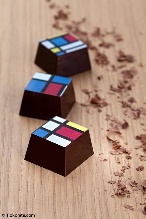 Cioccolatini Tiokorete: Grappa e peperoncino