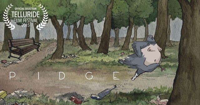 A suicidal pigeon contemplates his existence.  Official selection of   TELLURIDE FILM FESTIVAL MELBOURNE INTERNATIONAL ANIMATION FESTIVAL ANIMFILM GREECE MONTCLAIR FILM FESTIVAL