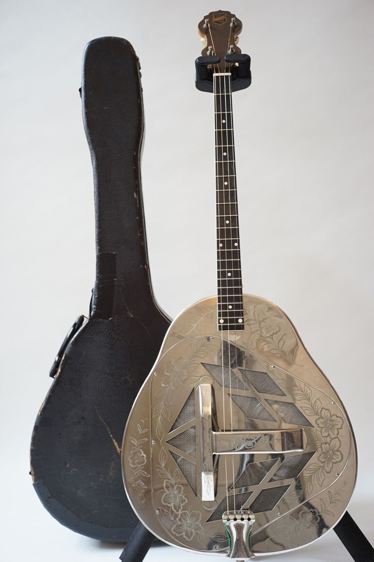 stringphonic:  National Style2 Tricone Tenor 1928 245000 --- https://www.pinterest.com/lardyfatboy/