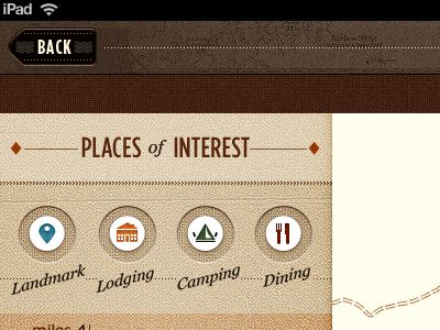 Places of Interest.