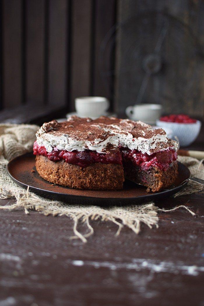 Haselnuss-Kirsch-Kuchen: ein Familienklassiker - Das Knusperstübchen