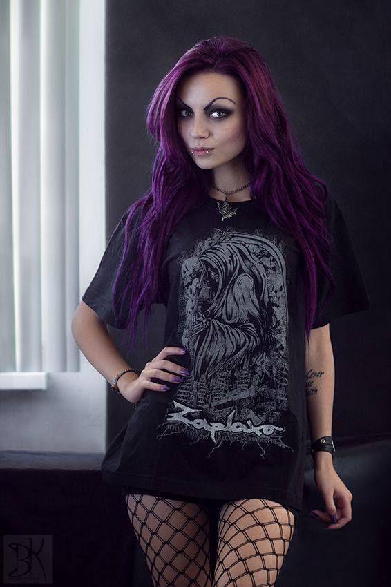 Model: Darya Goncharova Photo: B.Kostadinov Welcome to Gothic and Amazing |www.gothicandamazing.org