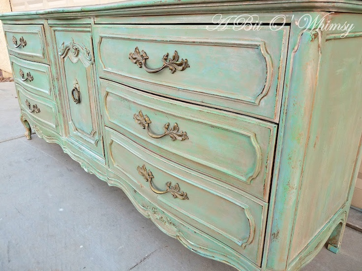 A Bit O' Whimsy: Verdigris Tutorial - Very Cool!: Paintings Techniques, Bit, Antibes Green, Rocks Stars, Verdigri Tutorials, Empty Nests, Annie Sloan, Chalk Paintings Furniture, Whimsy