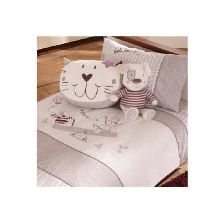 IzziWotNot Time to Play Cot Bed Bed Duvet Cover A neutral single duvet and pillowcase set in the Time To Play theme featuring best friends Henri and Fleur on a white and latte colour palette. This beautiful cot bed duvet and pillowcase set is perfe http://www.MightGet.com/march-2017-1/izziwotnot-time-to-play-cot-bed-bed-duvet-cover.asp