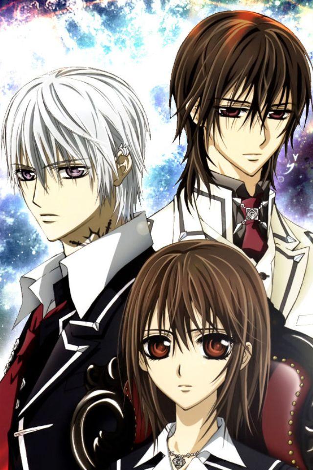 Kaname, Zero, and Yuki Vampire knight yuki, Vampire