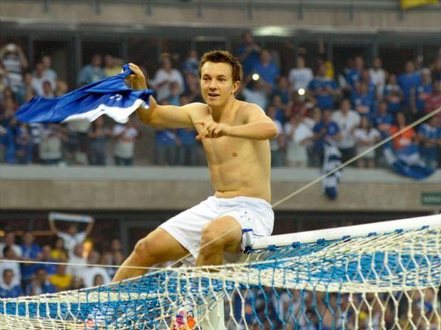 Dagoberto, atacante do Cruzeiro. 2013 Campeonato Brasileiro