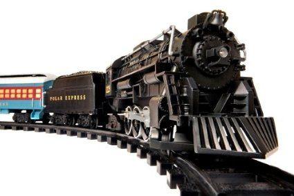 Lionel Polar Express Train Set - G-Gauge by Lionel https://www.amazon.com/dp/B000GL1EEE?tag=howtobuild005-20&camp=0&creative=0&linkCode=as4&creativeASIN=B000GL1EEE&adid=18CZZYDAPRA6EF5TBMQP&