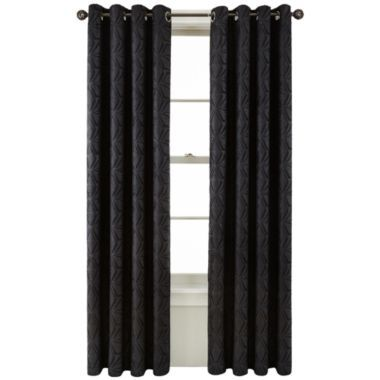Studio Carson Blackout Curtain Panel Found At Jcpenney 36 Each Panel Master Bedroom In Dark