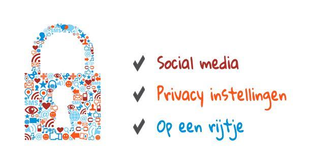 Social media privacy instellingen op een rijtje - header