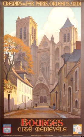 Bourges, Constant Duval - France ca. 1935
