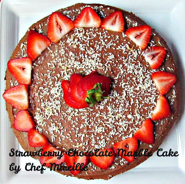 Strawberry Marble Cake | Favorite Recipes | Pinterest