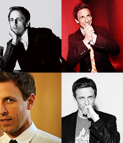 Seth Meyers - cute and funny