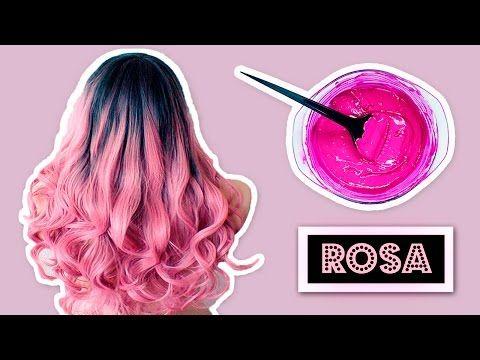Cómo teñir el cabello naturalmente! Todos los tonos y colores fantasía!!   Verte Bella