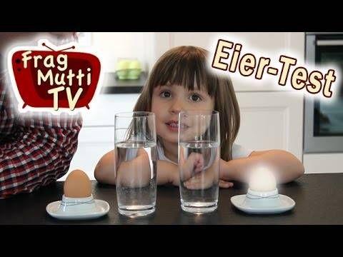 Der Eiertest im Wasserglas | Frag Mutti TV