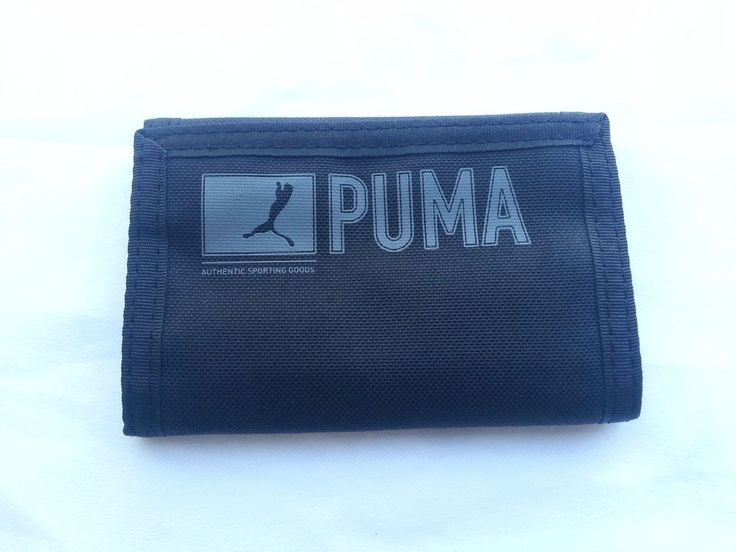 Puma Original Old Style Trifold Authentic Wallet #Puma #Trifold