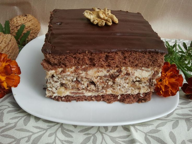 "Domowa Cukierenka - Domowa Kuchnia: ciasto ""prince polo"""