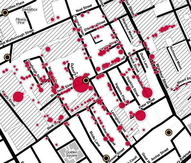 John Snow's cholera map -- using data to save lives