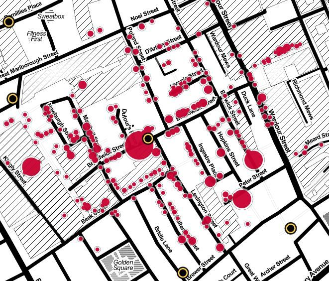 John Snow's cholera map -- using data to save lives