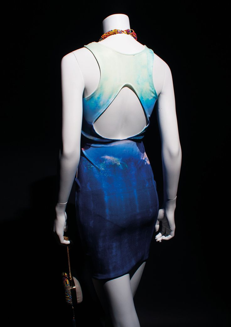 STAGE Collection by More Mannequins #FemaleMannequin #landscapedress #beads