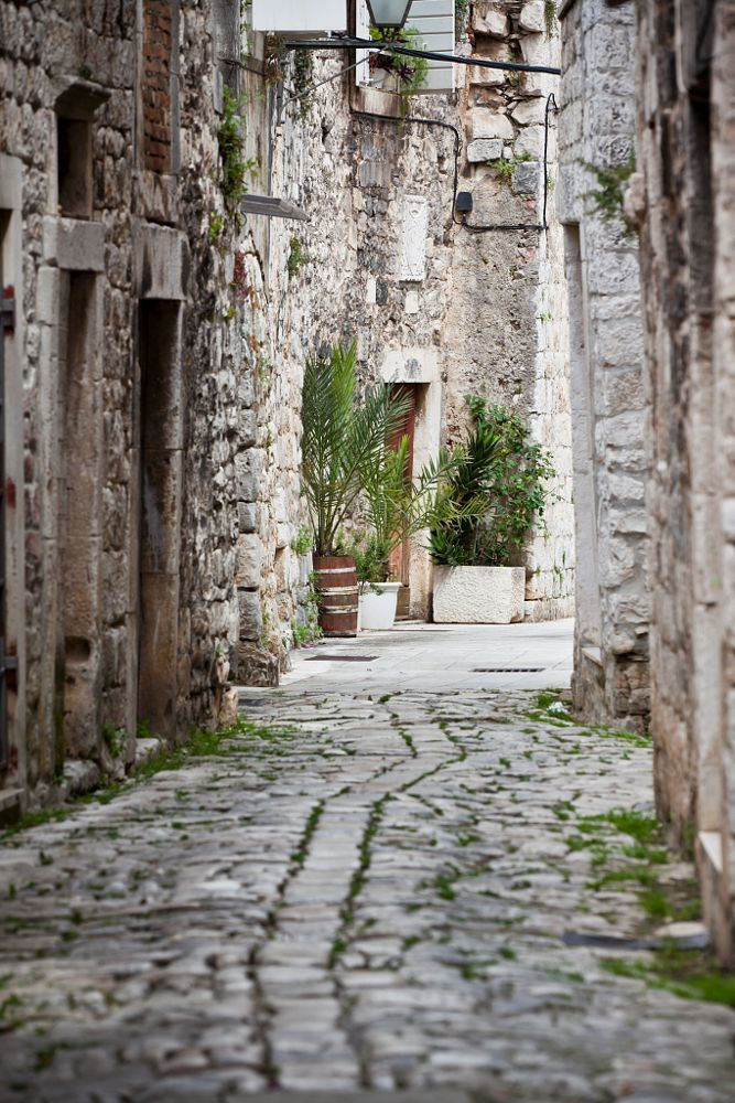 Old Stone Streets of Trogir, Croatia by dvoevnore . on 500px