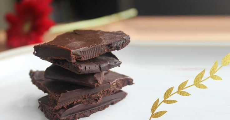 I may cry right now. Don't worry, it's happy tears.  Because this recipe is the best dang healthy chocolate I have ever made.  But promise me one thing- don't sit down and eat this all at once!  The ingredients are so nourishing that you will find that even the smallest  piece is sure to satisfy.  You totally deserve some sweetness in your life, so why not whip this up,  cut it into pieces and store it in your freezer for when you need some  sweetness.  Ingredients     * 1/2 cup (ideally…