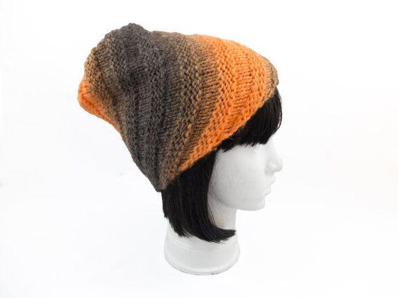 Womens knit beanie/knit hat/oversized hat warm winter by Jousilook