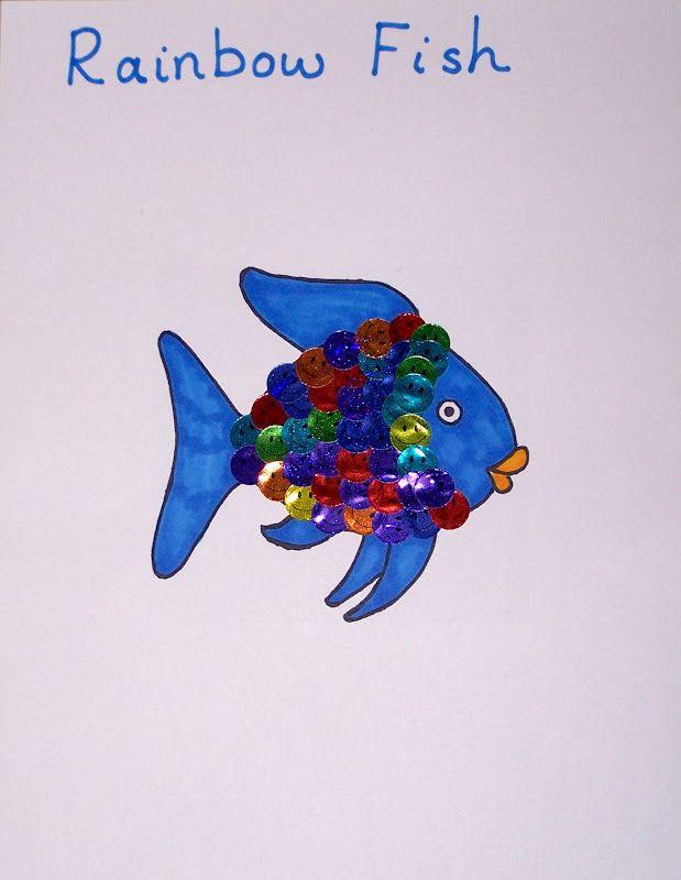 The 25+ best Rainbow fish template ideas on Pinterest Rainbow - rainbow template